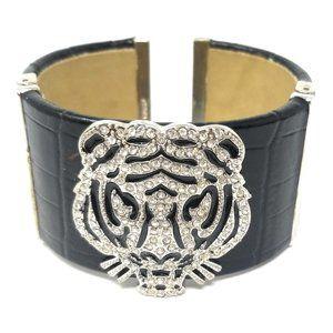 Women's Designer Leather Wrist Cuff Bracelet
